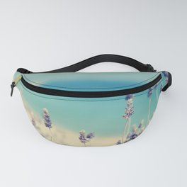 beach - lavender blues Fanny Pack
