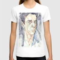 lou reed T-shirts featuring Lou Reed by Germania Marquez