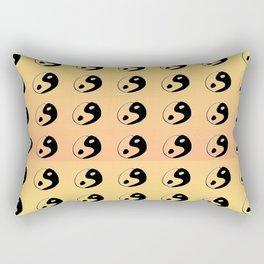 Yin and Yang 9 - Tao,Zen,Taoism,Dao,Harmony,religion,buddhism,buddhist,taijitu,taiji,taoist,china Rectangular Pillow