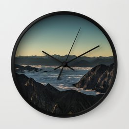 Tumultuous Waters Wall Clock