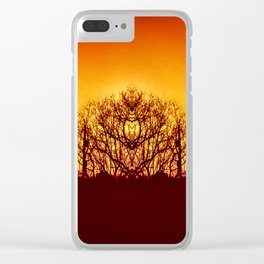 Clone Forest Clear iPhone Case