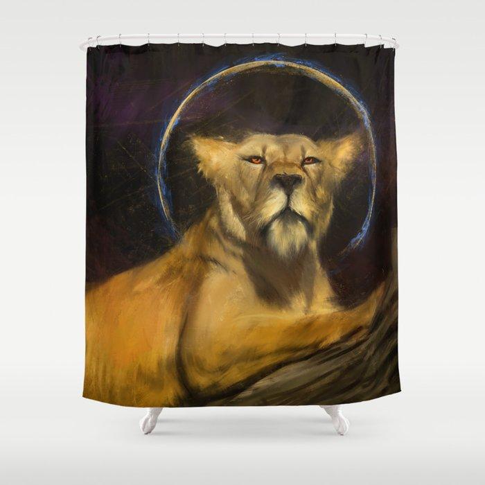 Royal Lion Shower Curtain