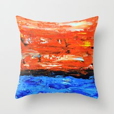 Color Combo #3 Throw Pillow