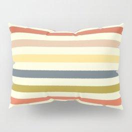 baby ikat stripe cream Pillow Sham