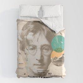 john lenon-imagine Duvet Cover
