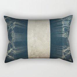 Exodus 14:22 Rectangular Pillow