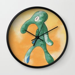 smvez x bold and brash Wall Clock