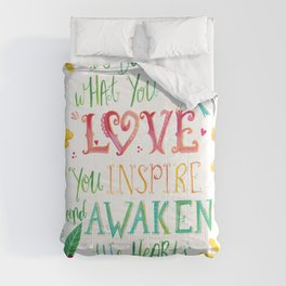 Do What You Love Comforters