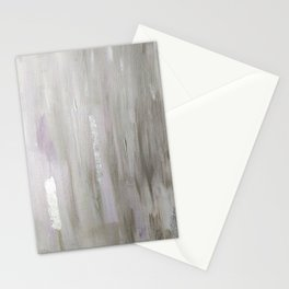 Lavender & Silver Stationery Cards