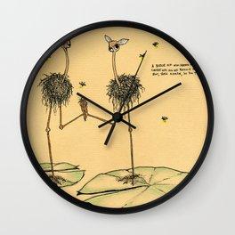 A Slice of Macaroni Wall Clock