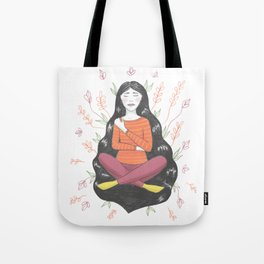 Peace and Pain (either/or/both) Tote Bag