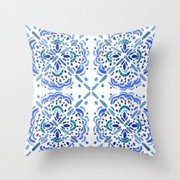 Amalfi Tile Throw Pillow