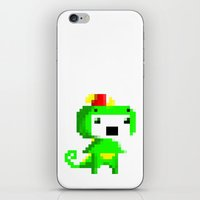 fez iPhone & iPod Skins featuring Rawr played Fez by Leilei Pan