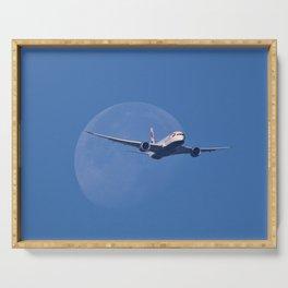 Dreamliner Moon Shot Serving Tray