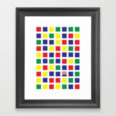 Square's Waldo Framed Art Print
