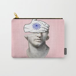 FACE of the YOUTH / Marble statue head Carry-All Pouch