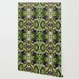 Mustard Greens & Sorrel Garden Wallpaper