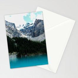 Moraine lake Wander (landscape) Stationery Cards