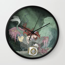 Part of Your World Wall Clock