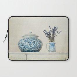 Lavender with Ginger Jar and Jug Laptop Sleeve