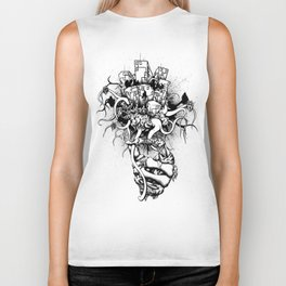 Or the Bad News First Biker Tank