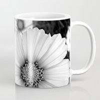cosmos Mugs featuring cosmos by nonono