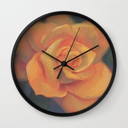 You are Golden Wall Clock