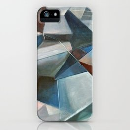 Spacial Abstraction II iPhone Case