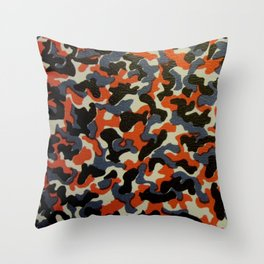 Berlin U-Bahn/S-Bahn Seat Cover Camouflage Pattern Throw Pillow