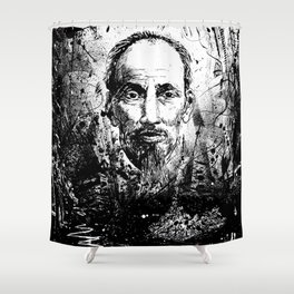 Ho Chi Minh Shower Curtain