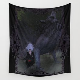 Lycan Howl Wall Tapestry