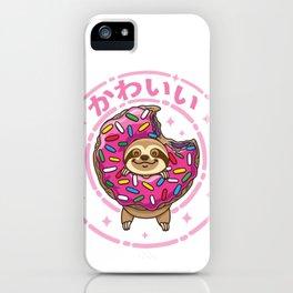 Kawaii Sloth iPhone Case