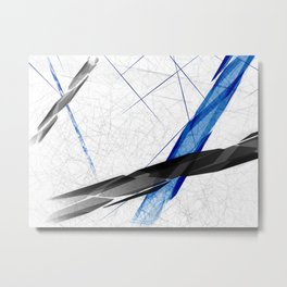 Abstract Ways Metal Print
