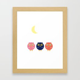 3 ptibous Framed Art Print