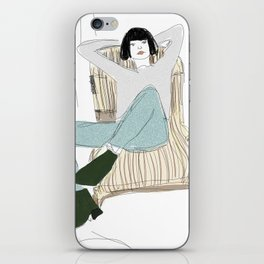 Chilling iPhone Skin