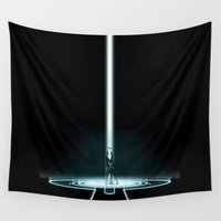 portal Wall Tapestries featuring TRON PORTAL by The ED13