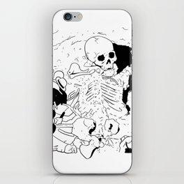 diggin up bones iPhone Skin