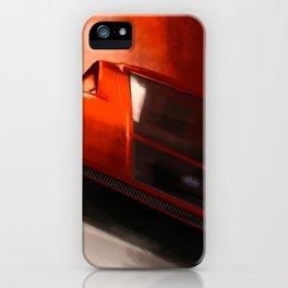 Lancia Stratos Zero iPhone Case