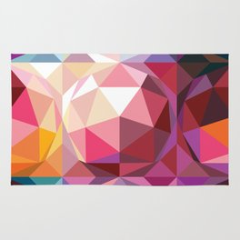 Geodesic dome pattern Rug