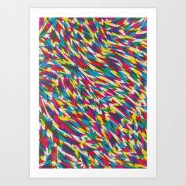 Boom Boom Zoom Art Print
