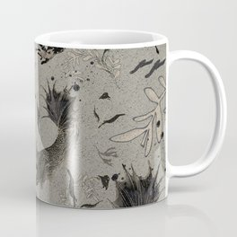 Lost. It's where she feels at ease. Coffee Mug