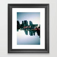 Landscapes (Los Angeles #2) Framed Art Print