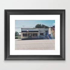 ghost town Framed Art Print