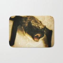 angry bat Bath Mat