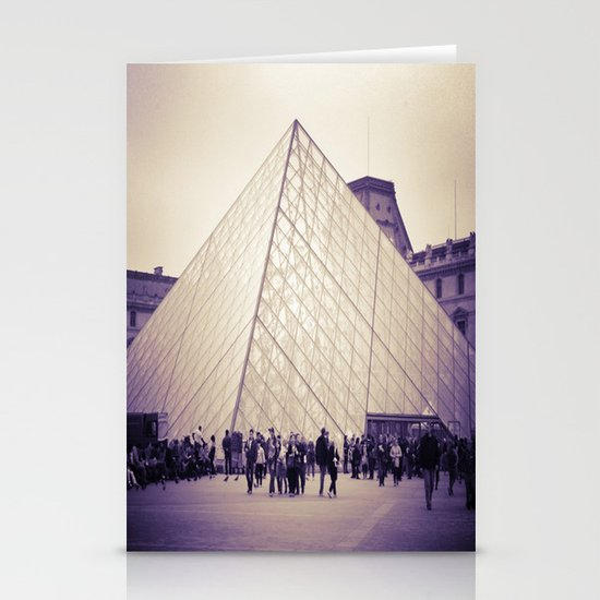 The Purple Pyramid Stationery Cards