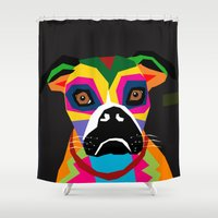 doge Shower Curtains featuring doge by YehudArt