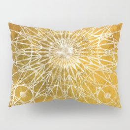 Rosette Window - Yellow Pillow Sham