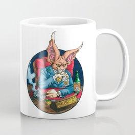 Mr. Muffin: Business Tycoon Coffee Mug