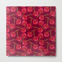 Sweet Cherries Metal Print