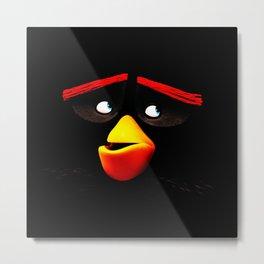 bomb angry bird Metal Print